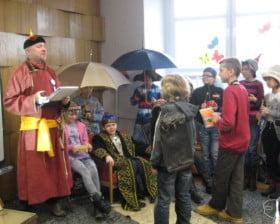W bibliotece w Kościanie (fot. Joanna Frąckowiak)