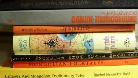 Książki o Mongolii