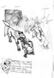 Szkicownik z wyprawy do kraju Mongołów