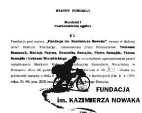 Fundacja im. Kazimierza Nowaka