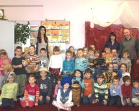 W przedszkolu Pod gwiazdkami w Krakowie
