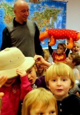 ...w przedszkolu w Kowalach.