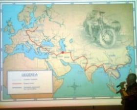 Łukasz opowiada o podróży Bujakowskich...