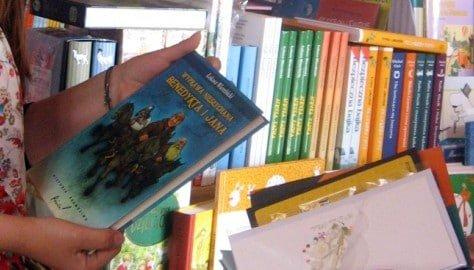 W księgarni