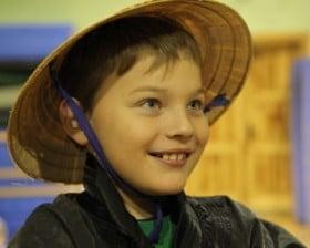 W szkole w Chybiu (fot. Piotr Mojżyszek)