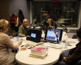 W radio Kraków (fot. Roman Kawecki)
