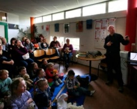Spotkanie z dziećmi w Holandii (fot. Aneta Noworyta)
