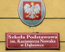 Szkoła Podstawowa im. Kazimierza Nowaka w Dąbrówce