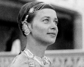 Halina Korolec-Bujakowska w Indiach (1935 rok)