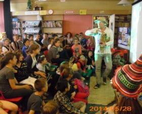 Gorące spotkanie w Bibliotece w Łapach (fot. www.bibliotekalapy.pl)