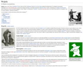 Wojtek na włoskiej wiki