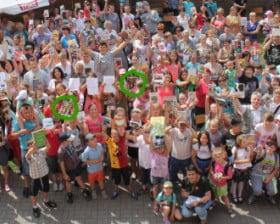 Rekord czytania w Lotyniu... Gratuluję! :) (fot. Andrzej Miłoszewicz)