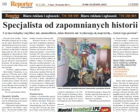 Reporter Leszczyński 11 2014