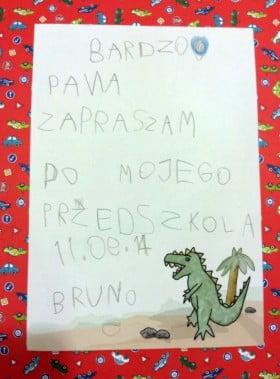 Zaproszenie od Bruna