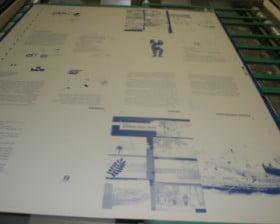 A tak wygląda płyta, z której naświetla się tekst i ilustracje.