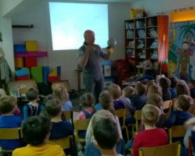 A to globus... w Szkole Podstawowej Niedźwiednik