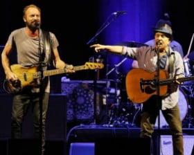 Sting i Paul Simon razem na scenie! (fot. theaustralian.com.au)