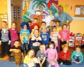Z przedszkolakami w Boruszynie