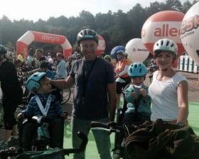 Na mecie Poznan Bike Challenge :)