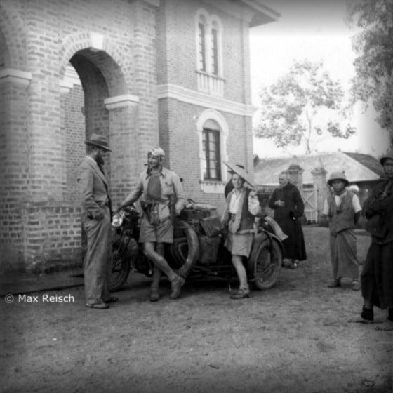 W listopadzie 1935 w Kengtung (fot. Max Reisch)