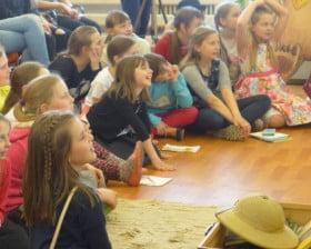 Dzieci z polskiej szkoły w Rezekne