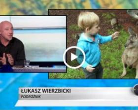 W telewizji o podróżowaniu z dziećmi...