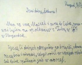 List od Maćka...